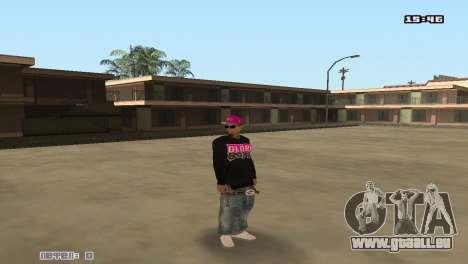 Ballas Skin Pack pour GTA San Andreas deuxième écran