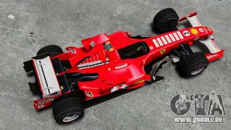 Ferrari F2005 pour GTA 4 est un droit