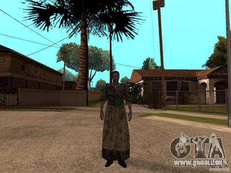 Aktualisierte Pak-Zeichen aus Resident Evil 4 für GTA San Andreas achten Screenshot