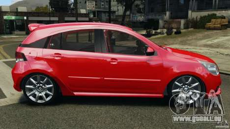 Chevrolet Agile für GTA 4 linke Ansicht