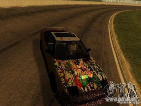 Nissan 240sx Street Drift für GTA San Andreas Innenansicht