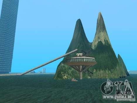 Insel (Monat auf dem Wasser) für GTA San Andreas