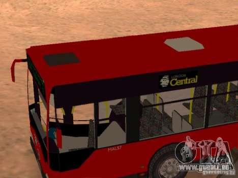 Mercedes-Benz Citaro G für GTA San Andreas Seitenansicht