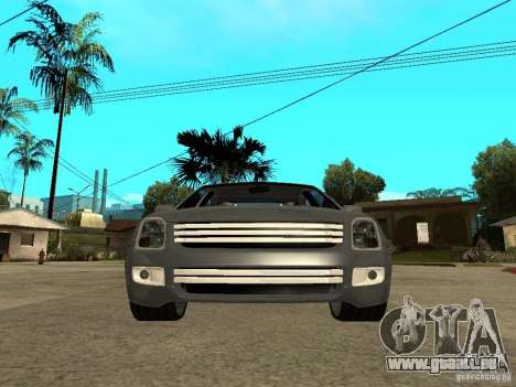 Ford Fusion 2008 Dub pour GTA San Andreas vue de droite