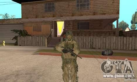 Sniper de peau pour GTA San Andreas septième écran