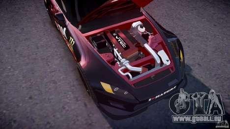 Honda S2000 Tuning 2002 Skin 1 pour GTA 4 est une vue de dessous