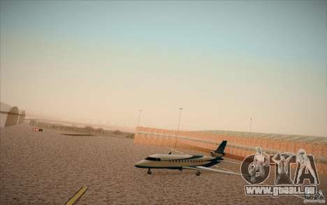 New San Fierro Airport v1.0 für GTA San Andreas dritten Screenshot