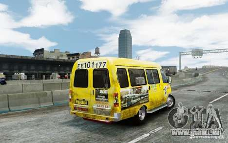 Gazelle 2705 Taxi V 2.0 für GTA 4 rechte Ansicht