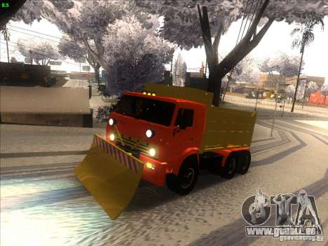 KAMAZ 5410 pour GTA San Andreas