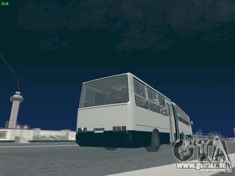 Remorque pour Ikarus 280.03 pour GTA San Andreas vue de dessus