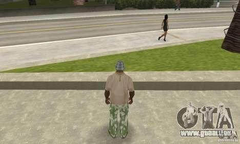 Camouflage-Hose für GTA San Andreas dritten Screenshot