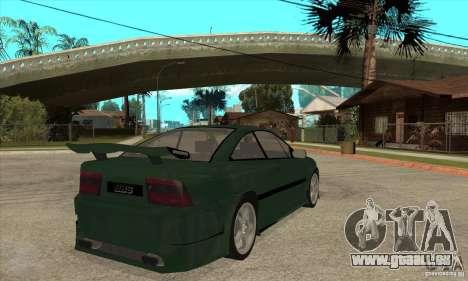 Opel Calibra für GTA San Andreas rechten Ansicht