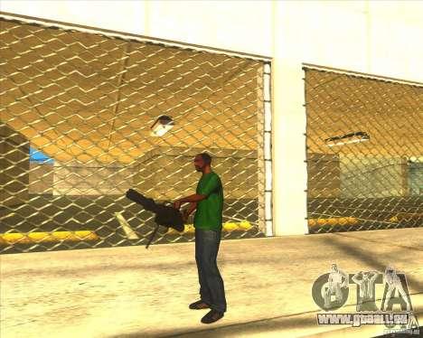 M134 minigan für GTA San Andreas zweiten Screenshot