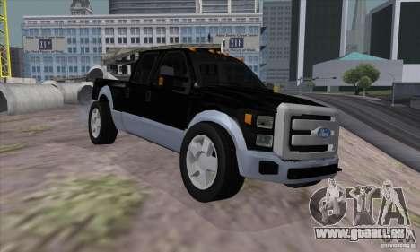 FORD F450 SUPER DUTE pour GTA San Andreas