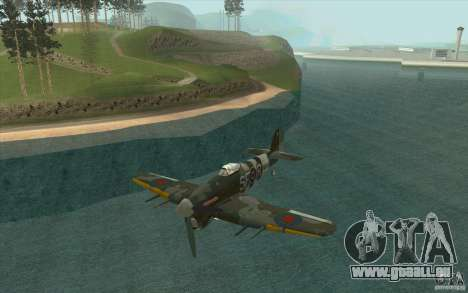 Hawker Typhoon pour GTA San Andreas