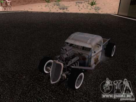 Ford Pickup Ratrod 1936 pour GTA San Andreas salon