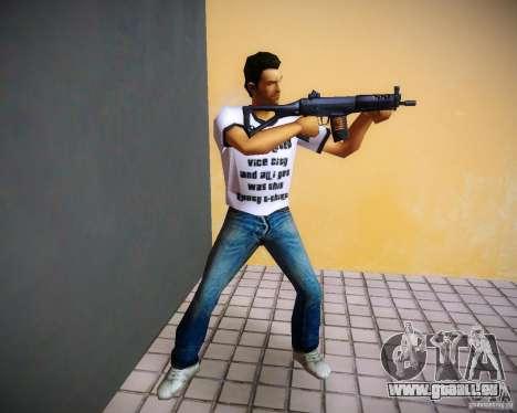 Sig552 pour le quatrième écran GTA Vice City