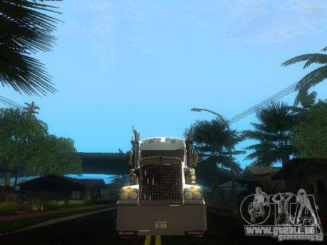 Kenworth T908 für GTA San Andreas obere Ansicht