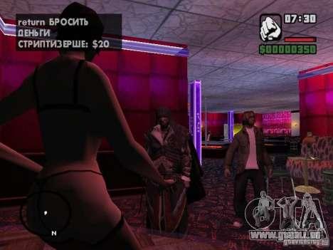 Ezio Auditores in Rüstung von Altair für GTA San Andreas dritten Screenshot