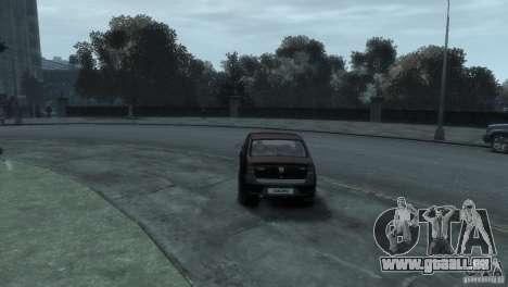 RENAULT LOGAN für GTA 4 rechte Ansicht