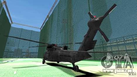 Sikorsky UH-60 Black Hawk für GTA 4 rechte Ansicht
