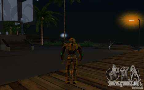 Cyrax 2 aus Mortal Kombat 9 für GTA San Andreas dritten Screenshot