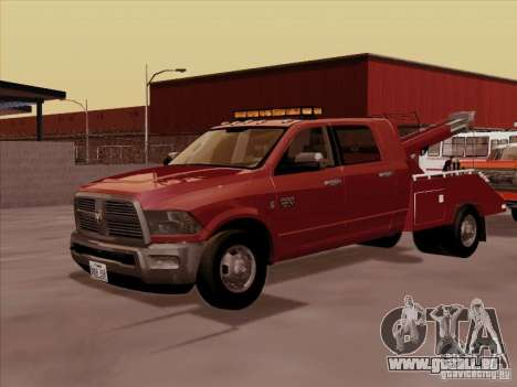 Dodge Ram 3500 TowTruck 2010 pour GTA San Andreas