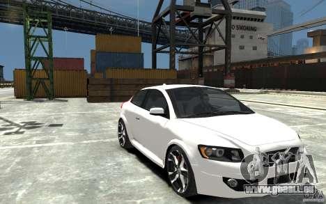 Volvo C30 T5 R-Design 2009 pour GTA 4 Vue arrière
