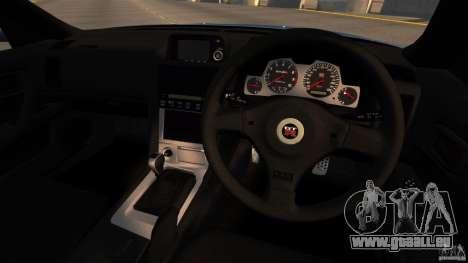 Nissan Skyline GT-R (BNR34) 2002 pour GTA 4 Vue arrière