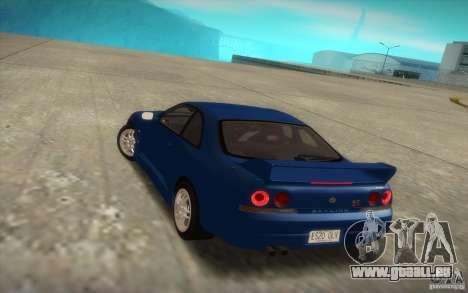Nissan Skyline R33 GT-R V-Spec pour GTA San Andreas laissé vue