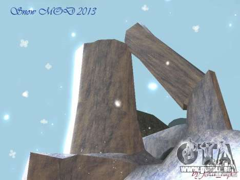 Snow MOD HQ V2.0 für GTA San Andreas