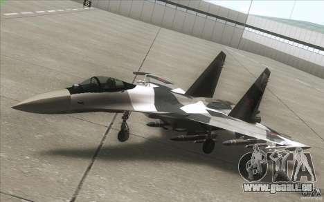Su-35 BM v2. 0 für GTA San Andreas Seitenansicht