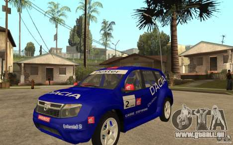 Dacia Duster Rally pour GTA San Andreas