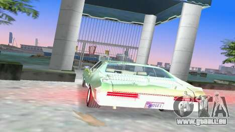 Pontiac GTO The Judge 1969 für GTA Vice City zurück linke Ansicht