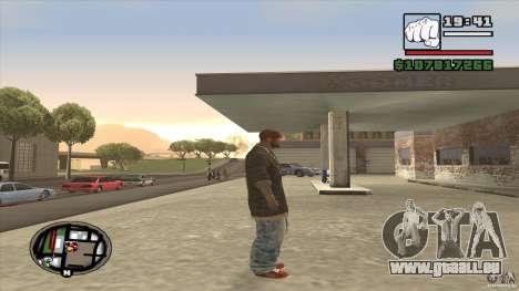 Sam B from Dead Island für GTA San Andreas dritten Screenshot