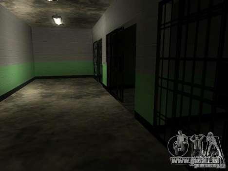 L'entrée de la zone de police à San Fierro pour GTA San Andreas septième écran