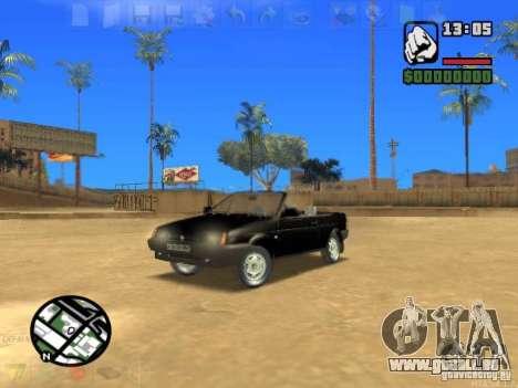 VAZ 2108 Convertible pour GTA San Andreas