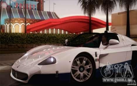 Maserati MC12 V1.0 pour GTA San Andreas roue