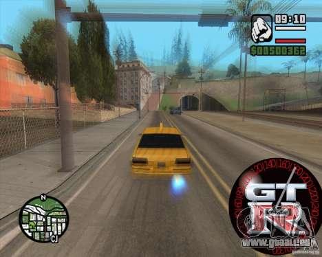 Tachometer GT-R für GTA San Andreas zweiten Screenshot