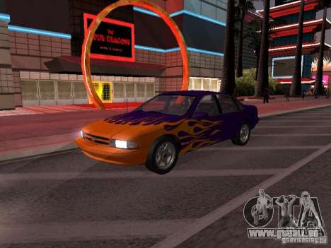 Chevrolet Impala SS 1995 pour GTA San Andreas salon
