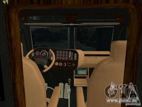 Peterbilt 379 Wrecker für GTA San Andreas zurück linke Ansicht