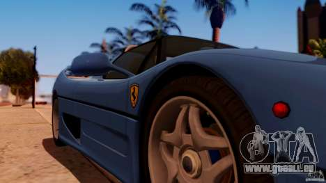 Ferrari F50 Coupe v1.0.2 pour GTA San Andreas vue de droite