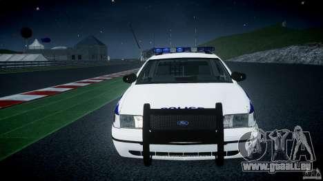 Ford Crown Victoria NYPD [ELS] für GTA 4