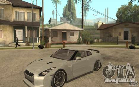 Nissan GTR SpecV 2010 für GTA San Andreas