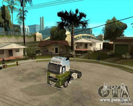 Volvo FH16 globetrotter pour GTA San Andreas