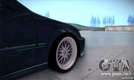 Honda Civic 6Gen pour GTA San Andreas vue arrière