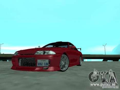 Nissan Skyline R32 Tuned pour GTA San Andreas laissé vue
