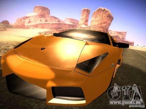 Lamborghini Reventon für GTA San Andreas linke Ansicht