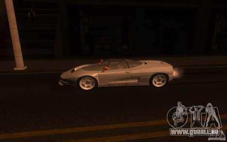 BMW Italdesign Nazca C2 1993 pour GTA San Andreas laissé vue