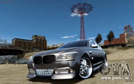 Écrans de menu et démarrage BMW HAMANN dans GTA  pour GTA San Andreas quatrième écran